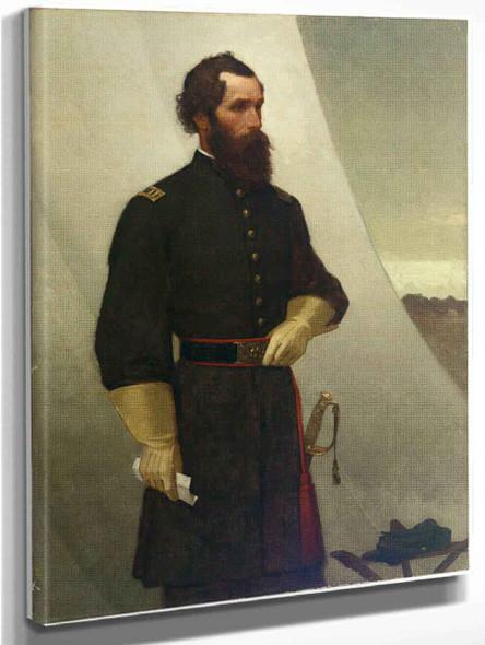Captain Edward F. Jones By William Morris Hunt
