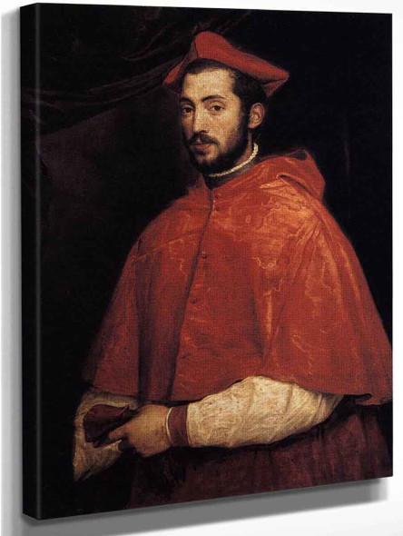 Cardinal Alessandro Farnese By Titian