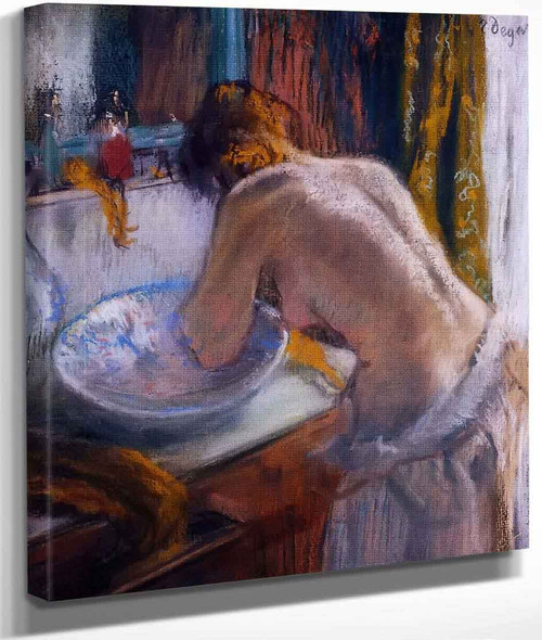 La Toilette By Edgar Degas By Edgar Degas