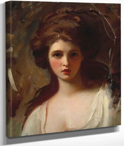 Lady Hamilton As Circe By George Romney By George Romney