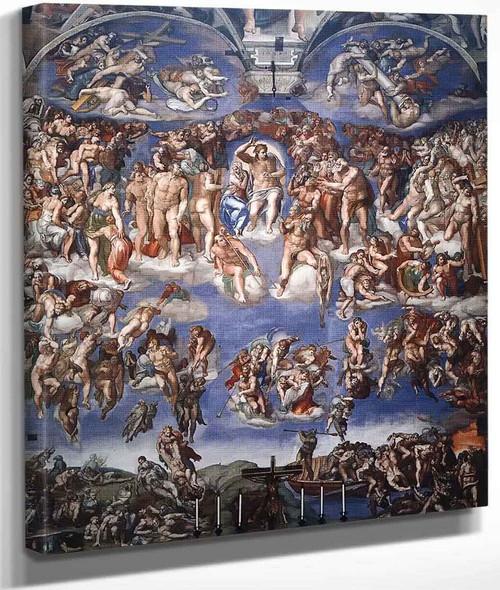 Last Judgment By Michelangelo Buonarroti By Michelangelo Buonarroti