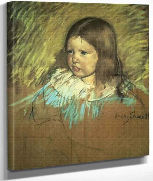 Margaret Milligan Sloan By Mary Cassatt By Mary Cassatt