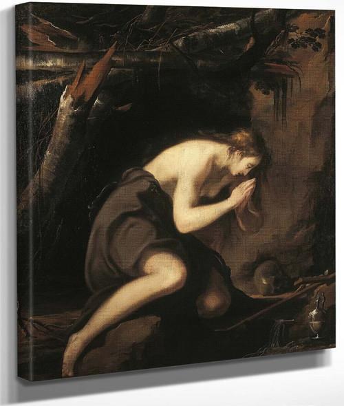 Mary Magdalene In Penitence By Laurent De La Hyre