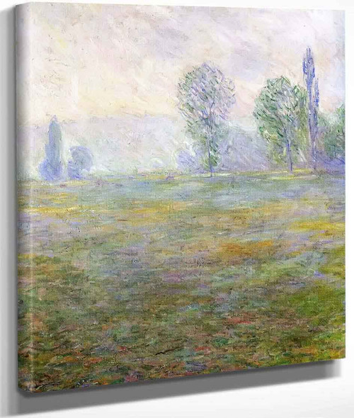 Meadows At Giverny By Claude Oscar Monet