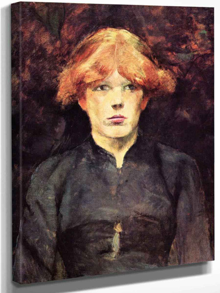 Carmen By Henri De Toulouse Lautrec