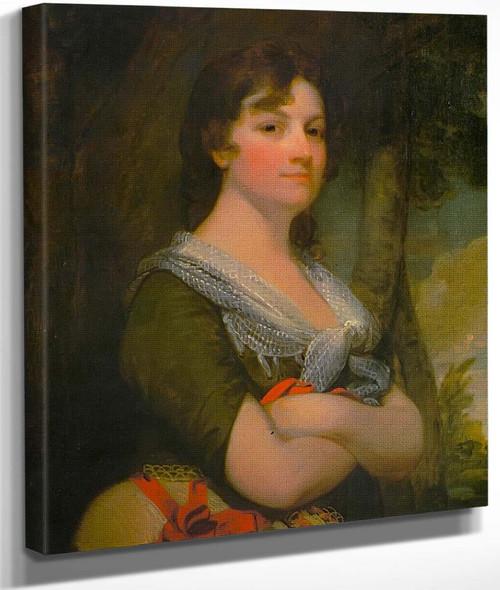 Mrs. Thomas B. Law By Gilbert Stuart