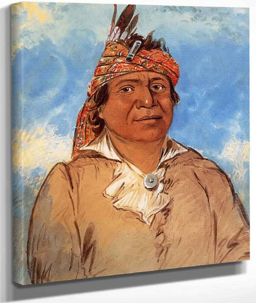 Ni Co Man, The Answer, Delaware By George Catlin By George Catlin