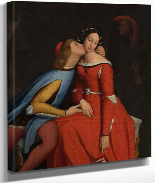 Paolo And Francesca By Jean Auguste Dominique Ingres By Jean Auguste Dominique Ingres