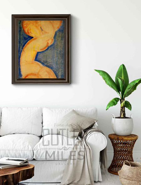 Caryatid3 By Amedeo Modigliani