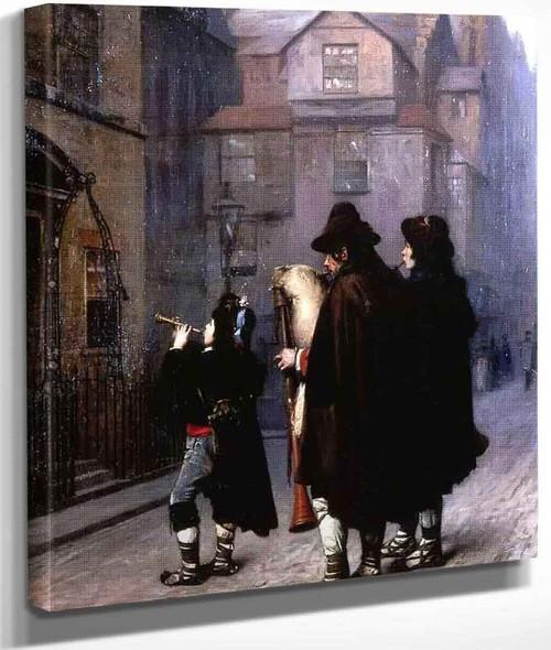 Pifferari In London By Jean Leon Gerome By Jean Leon Gerome