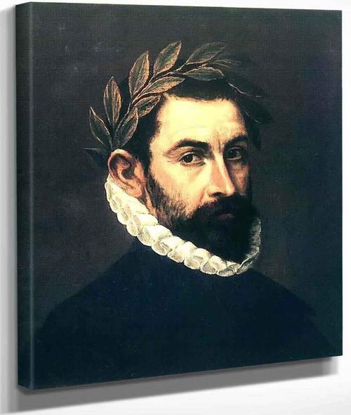 Poet Ercilla Y Zuniga By El Greco By El Greco