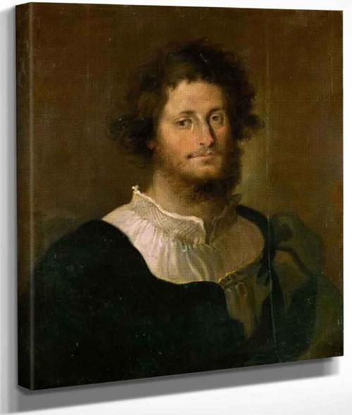 Portrait Of Francesco Gonzaga Of Mantua By Domenico Fetti