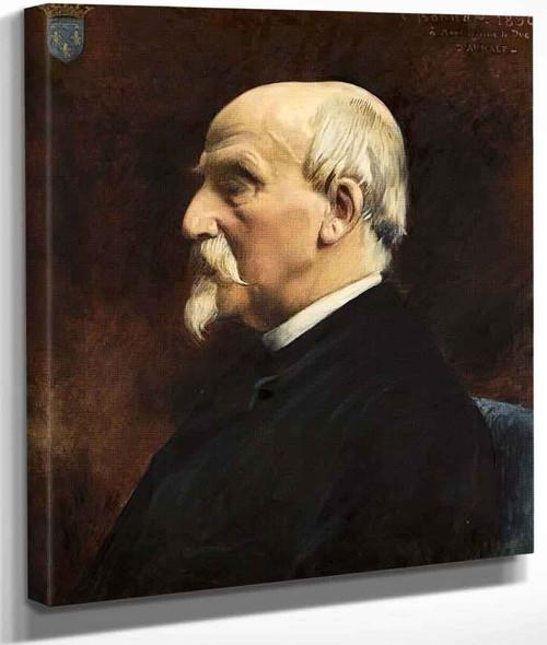 Portrait Of Henri Eugene Philippe Emmanuel D'orleans By Leon Joseph Florentin Bonnatfrench,