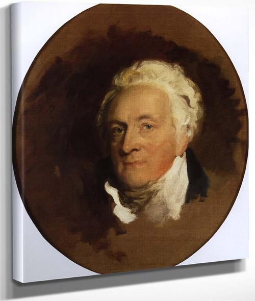 Portrait Of Henry Bathurst, Rd Earl Bathurst By Sir Thomas Lawrence