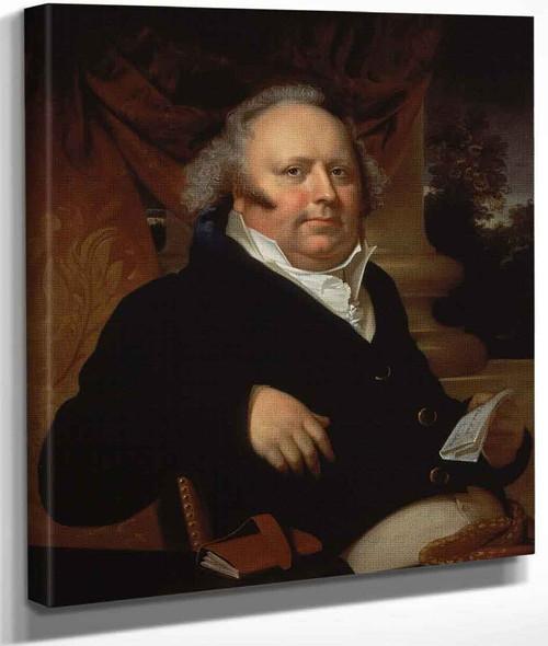 Portrait Of Jacob Gerard Koch By Rembrandt Peale