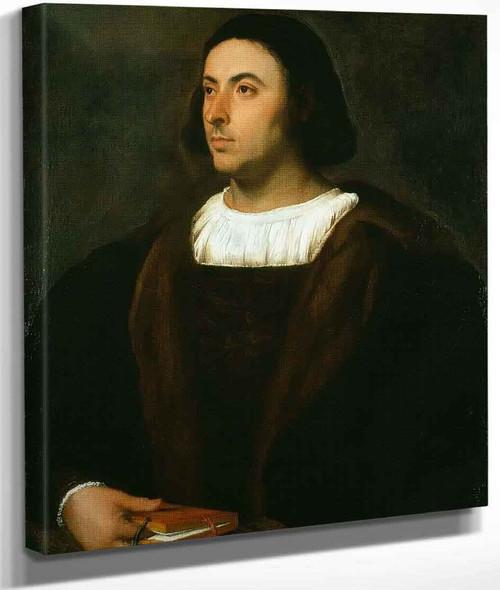 Portrait Of Jacopo Sannazaro By Titian