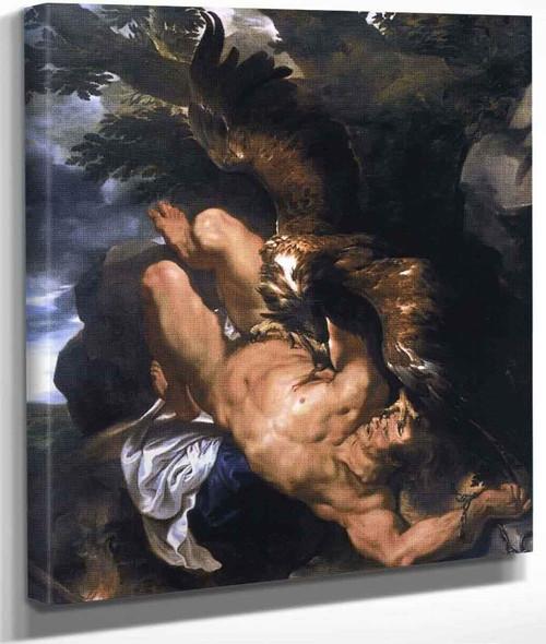 Prometheus Bound By Peter Paul Rubens By Peter Paul Rubens