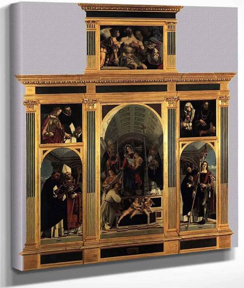 Recanati Polyptych By Lorenzo Lotto