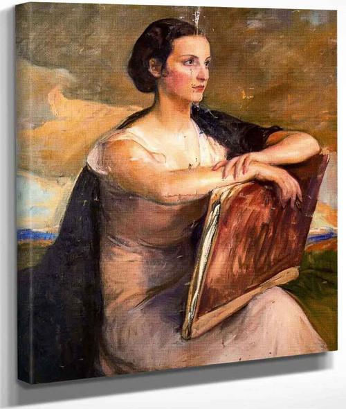 Retrato De Carmen Mongrell By Jose Mongrell Torrent