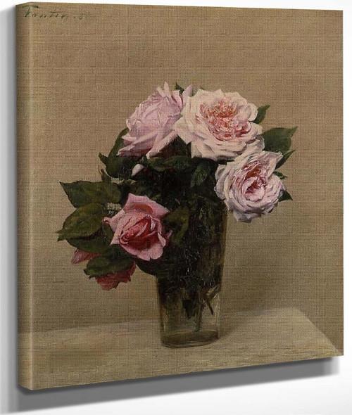 Roses Roses By Henri Fantin Latour By Henri Fantin Latour