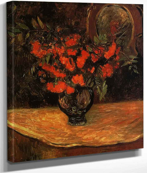 Rowan Bouquet By Paul Gauguin By Paul Gauguin