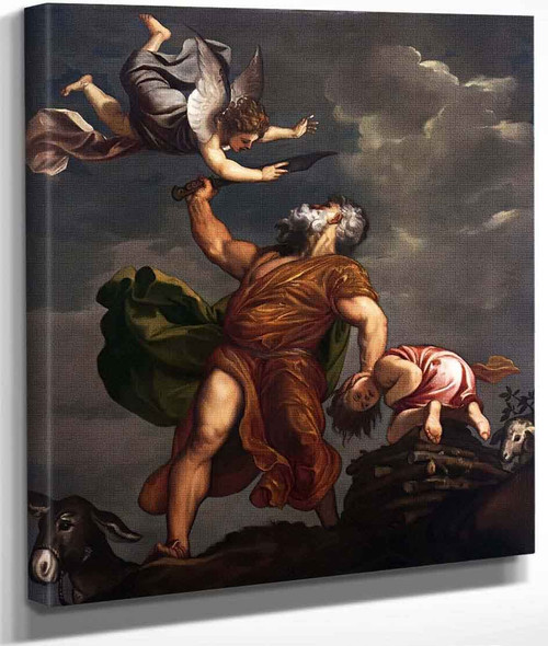 Sacrifice Of Isaac By Titian