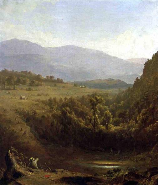 Scene In The Catskills By Sanford Robinson Gifford By Sanford Robinson Gifford