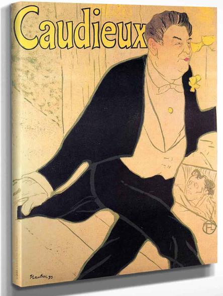 Caudieux By Henri De Toulouse Lautrec
