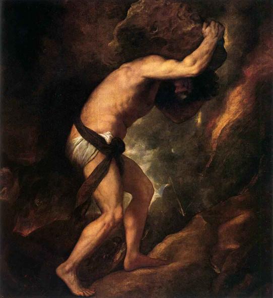 Sisyphus By Titian