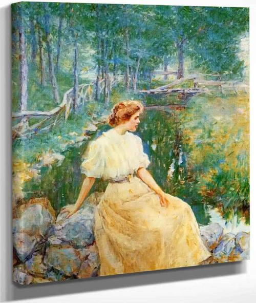 Spring By Robert Lewis Reid