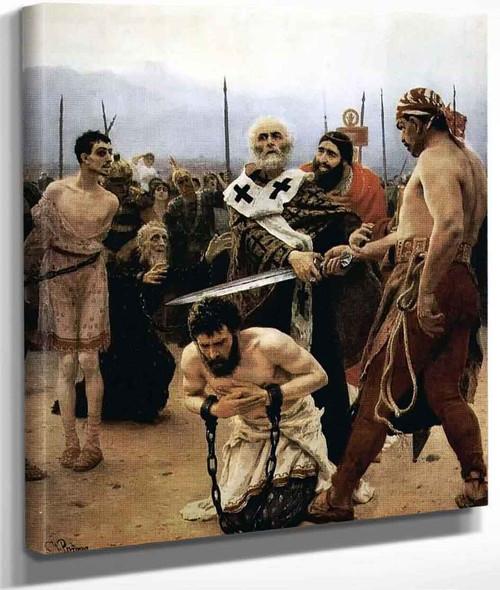 St. Nicholas Saves Three Innocents From Death. By Ilia Efimovich Repin By Ilia Efimovich Repin