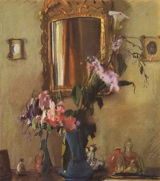 Still Life. Interior By Konstantin Somov