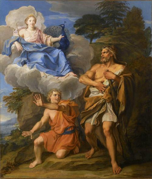 Story Of Hercules Juno And Hercules By Noel Coypel I
