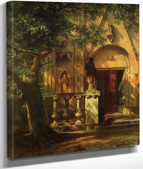 Sunlight And Shadow By Albert Bierstadt By Albert Bierstadt