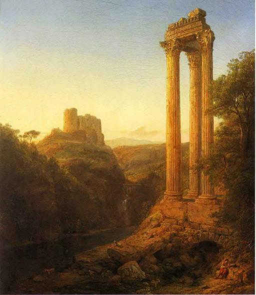 Sunrise In Syria By Frederic Edwin Church By Frederic Edwin Church