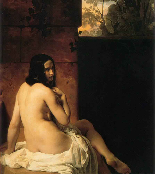 Susanna Al Bagno By Francesco Paolo Hayez