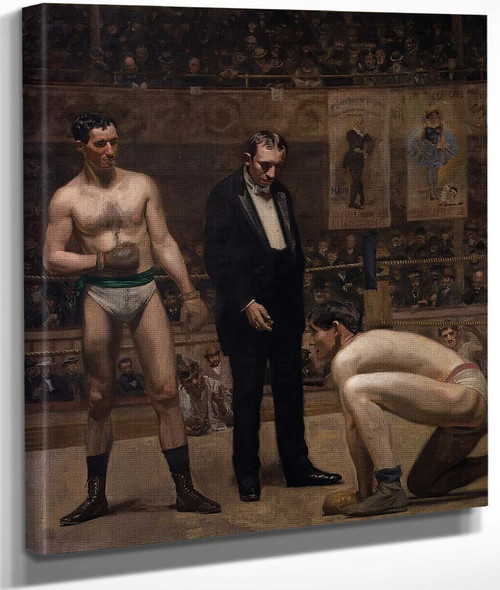 Taking The Count By Thomas Eakins By Thomas Eakins