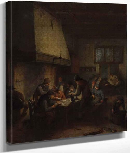 Tavern Scene By Adriaen Van Ostade By Adriaen Van Ostade