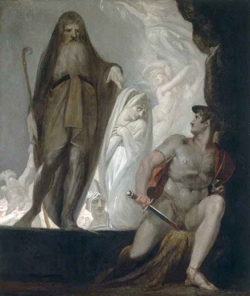 Teiresias Foretells The Future To Odysseus By Henry Fuseli By Henry Fuseli