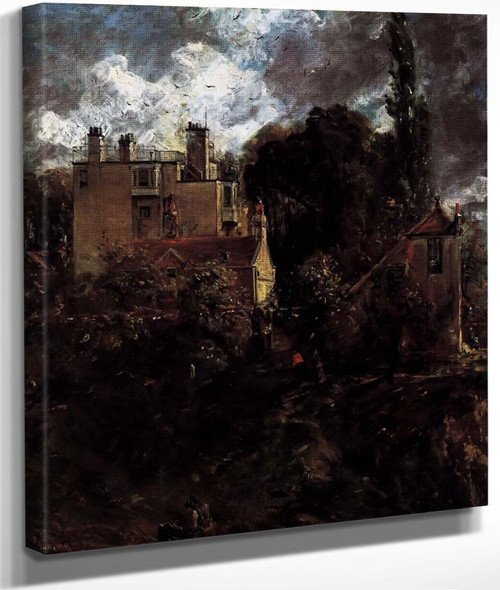 The Admiral's House By John Constable By John Constable
