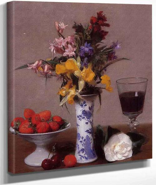 The Bethrothal Still Life By Henri Fantin Latour By Henri Fantin Latour