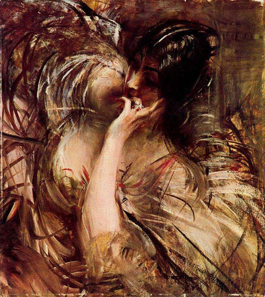 The Bouse Of Voile By Giovanni Boldini By Giovanni Boldini
