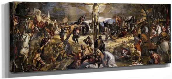 The Crucifixion By Jacopo Tintoretto