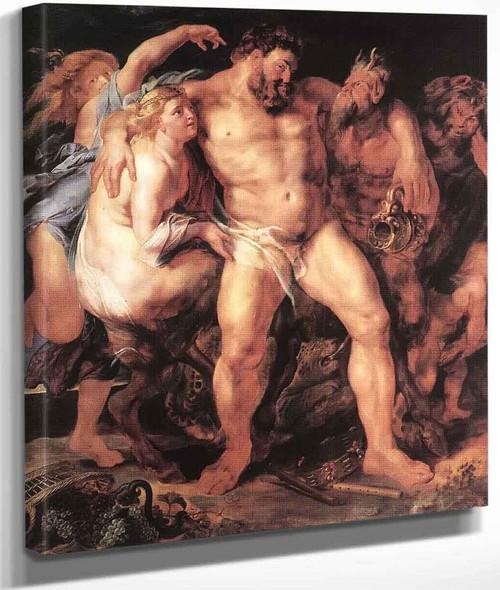 The Drunken Hercules By Peter Paul Rubens By Peter Paul Rubens