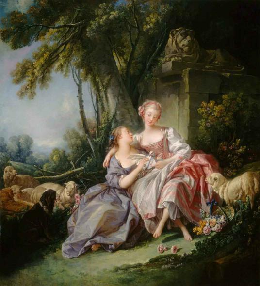 The Love Letter By Francois Boucher