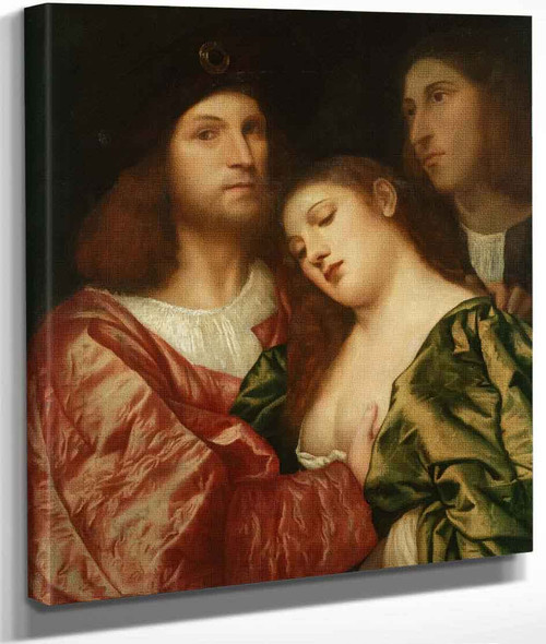 The Lovers By Titian