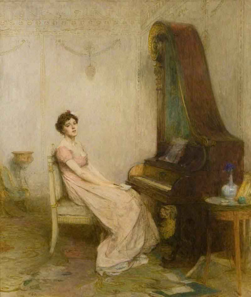 The Lyric By Sir William Quiller Orchardson