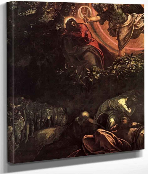 The Prayer In The Garden By Jacopo Tintoretto