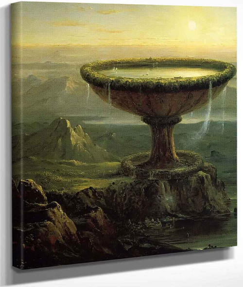 The Titan's Goblet By Thomas Cole By Thomas Cole