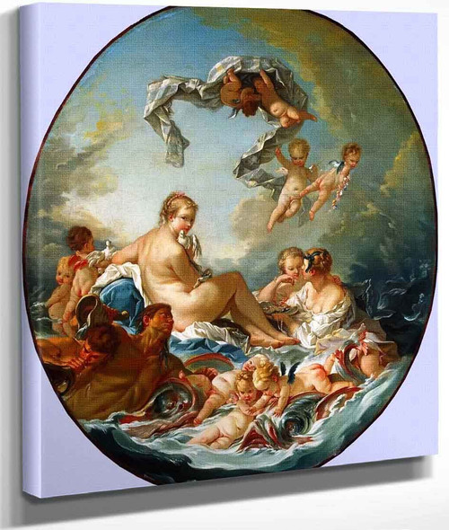 The Triumph Of Venus By Francois Boucher